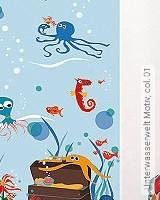 Tapete: Unterwasserwelt Motiv, col. 01