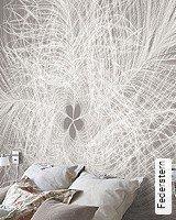 Tapeten  - Tapeten für das Schlafzimmer Federstern
