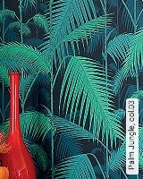 Tapete  - Exotische Tapeten Palm Jungle, 03