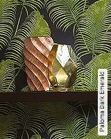 Tapete  - Exotische Tapeten Paloma Dark Emerald