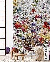 Tapete  - Frischer Wind für Ihre Wohnung Flora K18