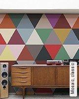 Tapete  - Frischer Wind für Ihre Wohnung Mosaic, classic