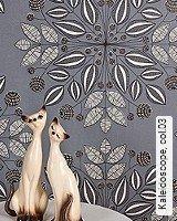 Tapete  - Herbst-Tapeten Kaleidoscope, 03