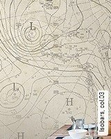 Tapete  - <span>Maritime Tapeten</span> Isobars, 03