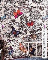 Tapeten  - Opulenz Butterfly Garden, 01