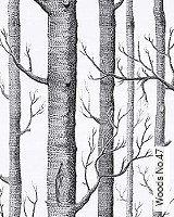 Tapete  - Schwarz-Weiß Woods No.47