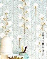Tapete  - Skandinavisches Design Sweet Cotton, 02