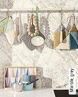 Tapete  - Skandinavisches Design Marble, grey