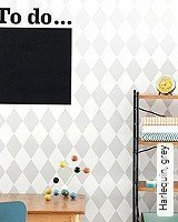Tapete  - Skandinavisches Design Harlequin, grey