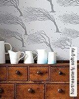 Tapete  - Skandinavisches Design Northeasterly, soft grey