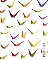 Tapete  - Skandinavisches Design Paper Birds