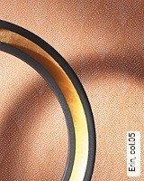 Tapete  - Tapeten in Kupfer und Rotgold Erin, 05