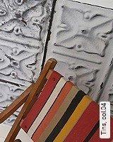 Tapete  - Tapeten in Kupfer und Rotgold Tins, 04