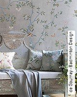 Tapete  - Animal Print de Gournay - Badminton Design