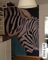 Tapete  - Animal Print Zebra, groß