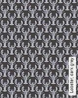 Tapete  - Animal Print Lobster, dark grey
