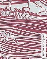 Tapete  - Animal Print Whitby, awning red