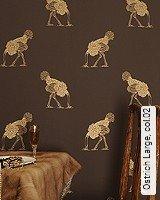 Tapete  - Animal Print Ostrich Large, 02