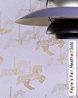 Tapete  - Animal Print Fayre`s Fair, Heather/Gold