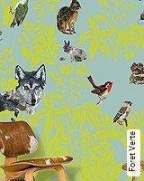 Tapete  - Animal Print Foret Verte