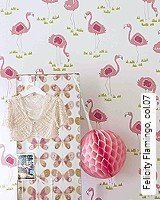 Tapete  - Animal Print Felicity Flamingo, 07