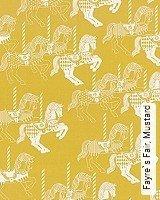 Tapete  - Animal Print Fayre`s Fair, Mustard