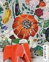 Tapete  - Animal Print Jardin Gris