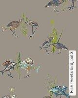 Tapete  - Animal Print Fish meets bird, 3