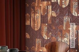 Preis:115,00 EUR - Kollektion(en): - Tapeten in Kupfer und Rotgold