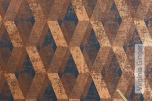 Preis:79,00 EUR - Kollektion(en): - Tapeten in Kupfer und Rotgold