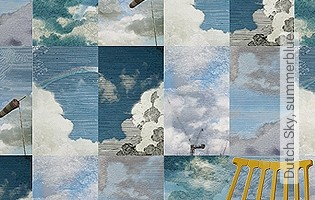 Bild Tapete - Dutch Sky, summerblue