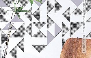 Bild Tapete - Goldsmiths Embroidered wallpaper