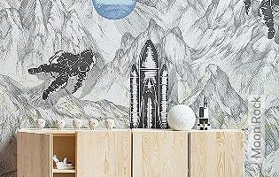 Bild Tapete - Moon Rock