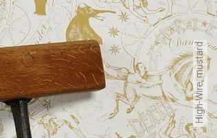 Bild Tapete - High-Wire, mustard