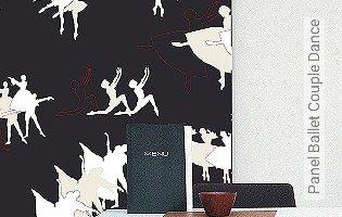 Bild Tapete - Panel Ballet Couple Dance
