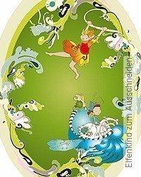 Tapete: Elfenkind zum Ausschneiden