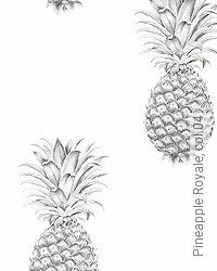 Tapete: Pineapple Royale, col.04