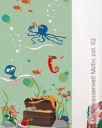 Tapete: Unterwasserwelt Motiv, col. 02