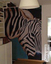 Tapete: Zebra, groß