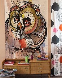 Tapete: Stoned Owl