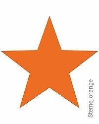 Tapete: Sterne, orange