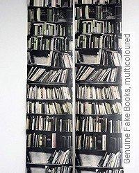 Tapete: Genuine Fake Books, multicoloured