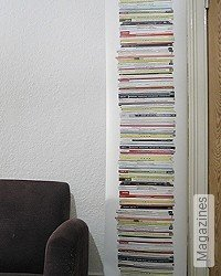 Tapete: Magazines