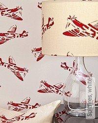Tapete: Spitfires, white