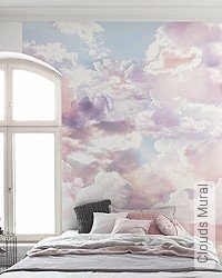 Tapete: Clouds Mural