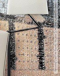 Tapete: Hamburg Elbphilharmonie - Horizon Type - Ingo Krasenbrink Design