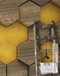 Tapete: Woodcomb Olive