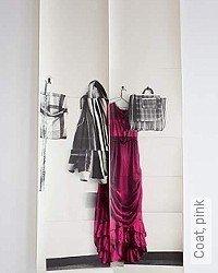 Tapete: Coat, pink
