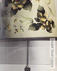 Tapete: Kims Lamp, yellow