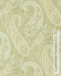Tapete: Cashmere Paisley, col.20
